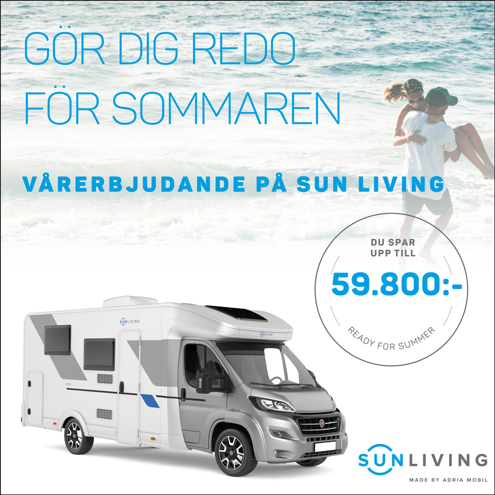Sun Living – Stor kampanj