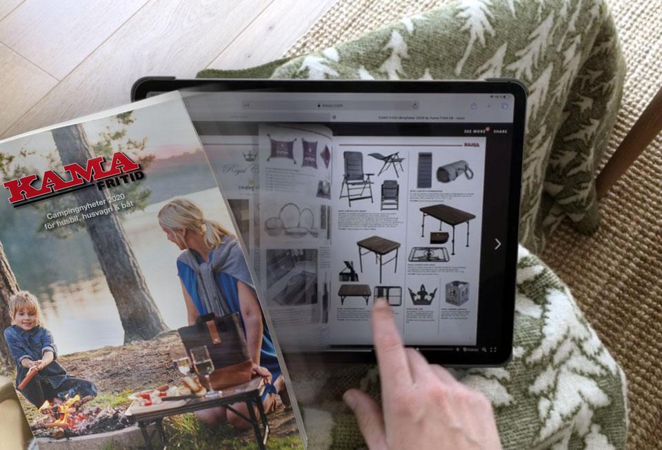 Bläddra i katalogen från Kama Fritid hemifrån