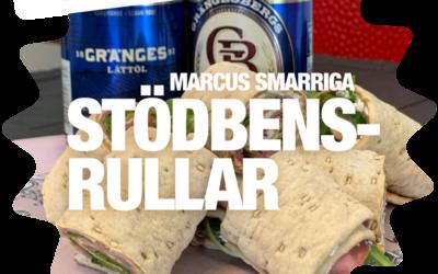 Marcus smarriga STÖDBENSRULLAR