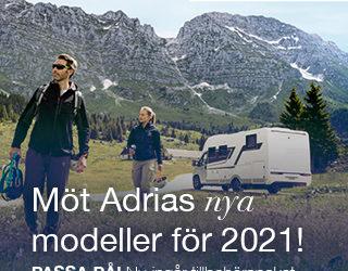 Adria Roadshow – Se nya modeller för 2021!