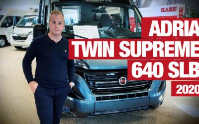 Marcus visar Adria Twin Supreme 640 SLB – 2020