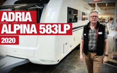 Adria Alpina 583 LP – 2020 presenteras av Mikael