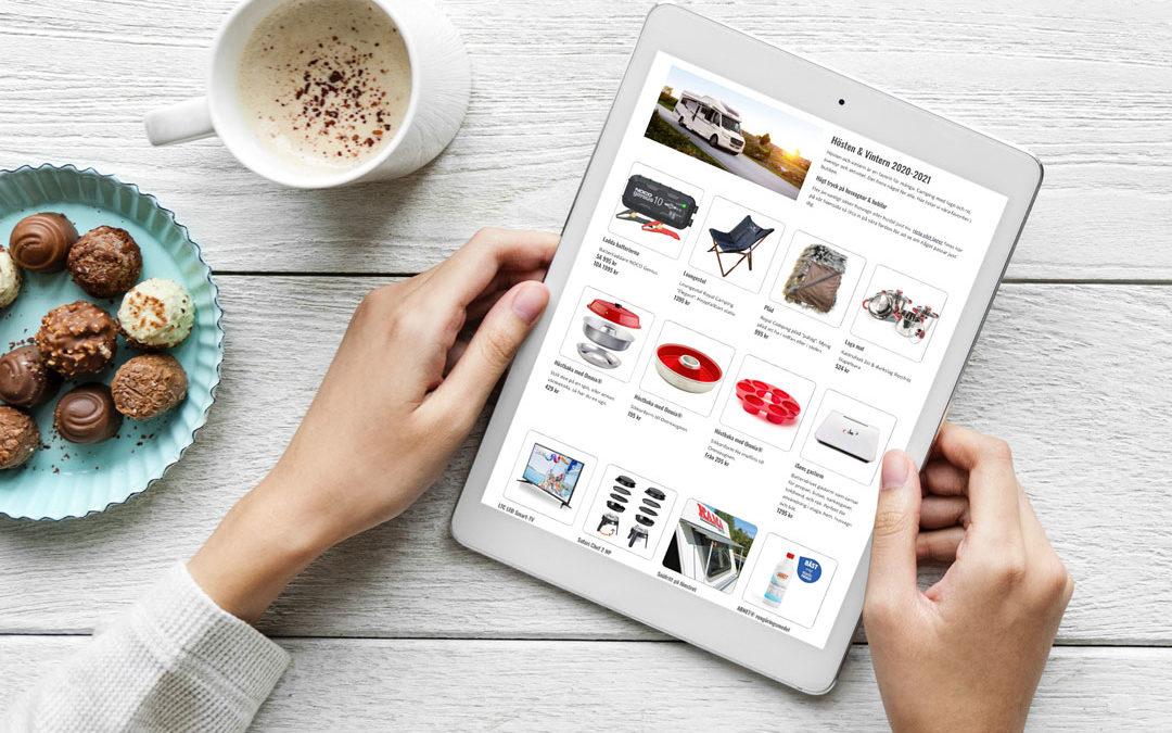 Favoriter i butiken för husvagn och husbil – 2021