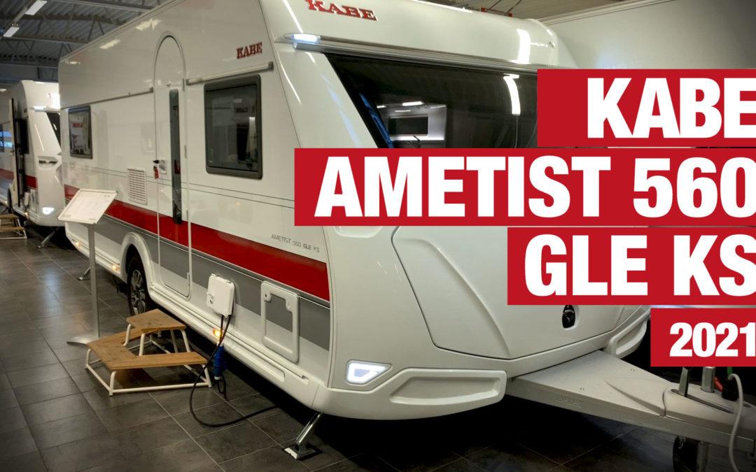 Ove visar KABE Ametist 560 GLE KS – 2021