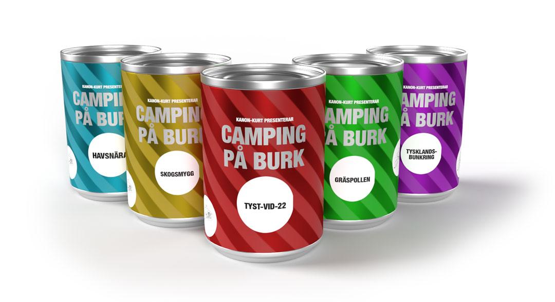 Campingplats på burk – Campingburken
