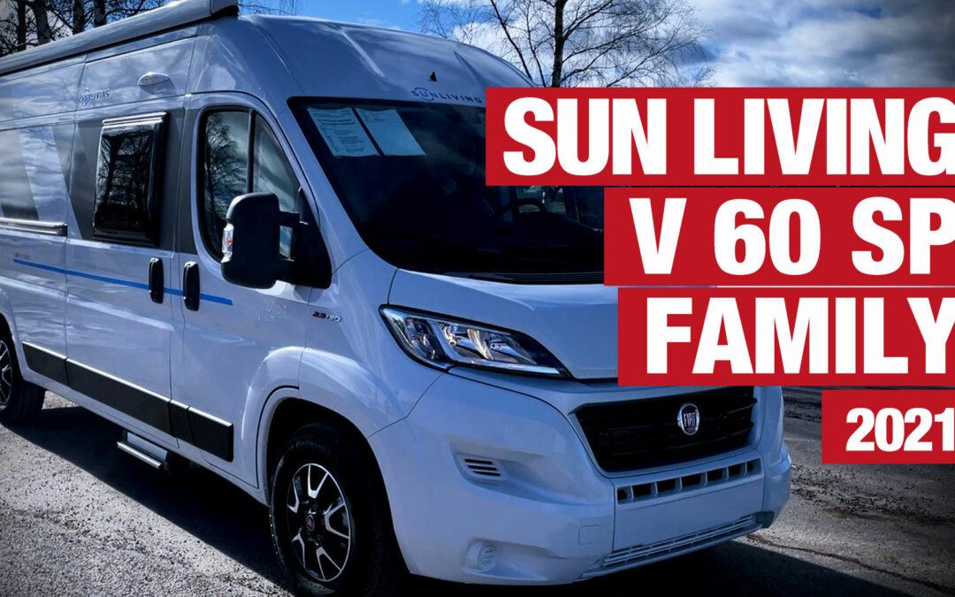Marcus visar upp Sun Living V 60 SP Family – 2021